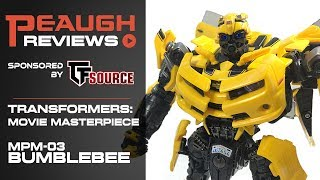 Video Review: Transformers - Movie Masterpiece MPM-03 BUMBLEBEE