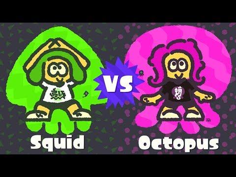The Only Real Choice (Splatoon 2 Squid Vs Octopus Splatfest)