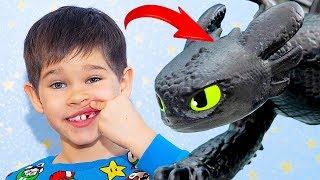 Erik became Toothless