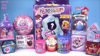DOLLS LOL GLAM Glitter Hairdorables PJ Masks Shimmer Shine Vampirina Surprise TOYS Unboxing