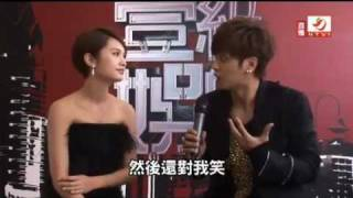 20110818 壹周刊娛樂大賞後台獨家專訪 小豬羅志祥楊丞琳 show lo rainie yang