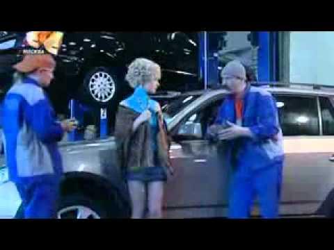 6 кадров - Блондинка в автосервисе