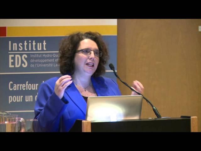 R. Siron - Vers l'adaptation : Synthèse des connaissances sur les changements climatiques au Québec