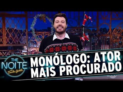Monólogo: Alexandre Borges é o ator mais procurado no Google | The Noite (21/12/16)