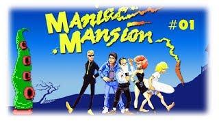 Maniac Mansion (C64/1987) {GERMAN} Part 1 - Ein ehrenwertes Haus [Let