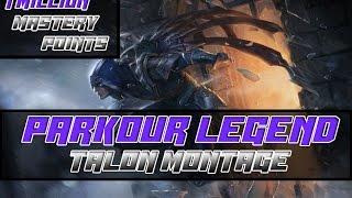 talon rework montage   1 million mastery points   talon main   preseason 2017 league of legends