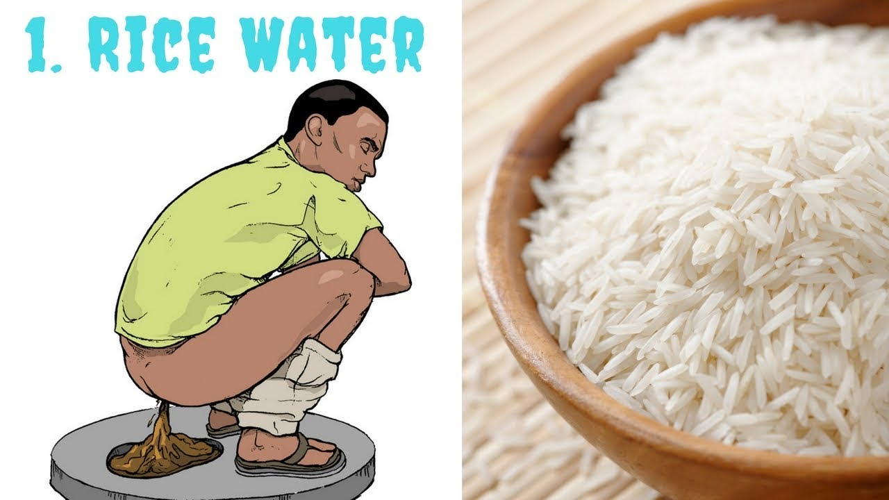 Drinking Rice Water For Babies