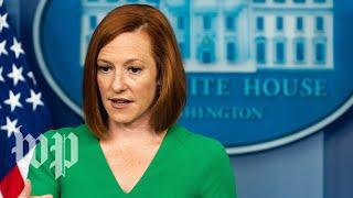 WATCH: White House press secretary Psaki holds news conference
