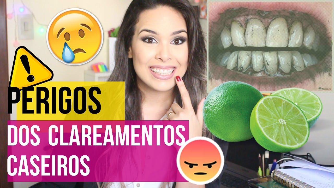 Como Nao Clarear Os Dentes Em Casa Youtube