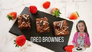 Oreo Brownies โอรีโอ้ บราวนี่