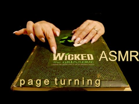 ASMR WICKED GRIMMERIE PAGE TURNING  Relaxing Sounds to Help You Sleep  JoWi ASMR