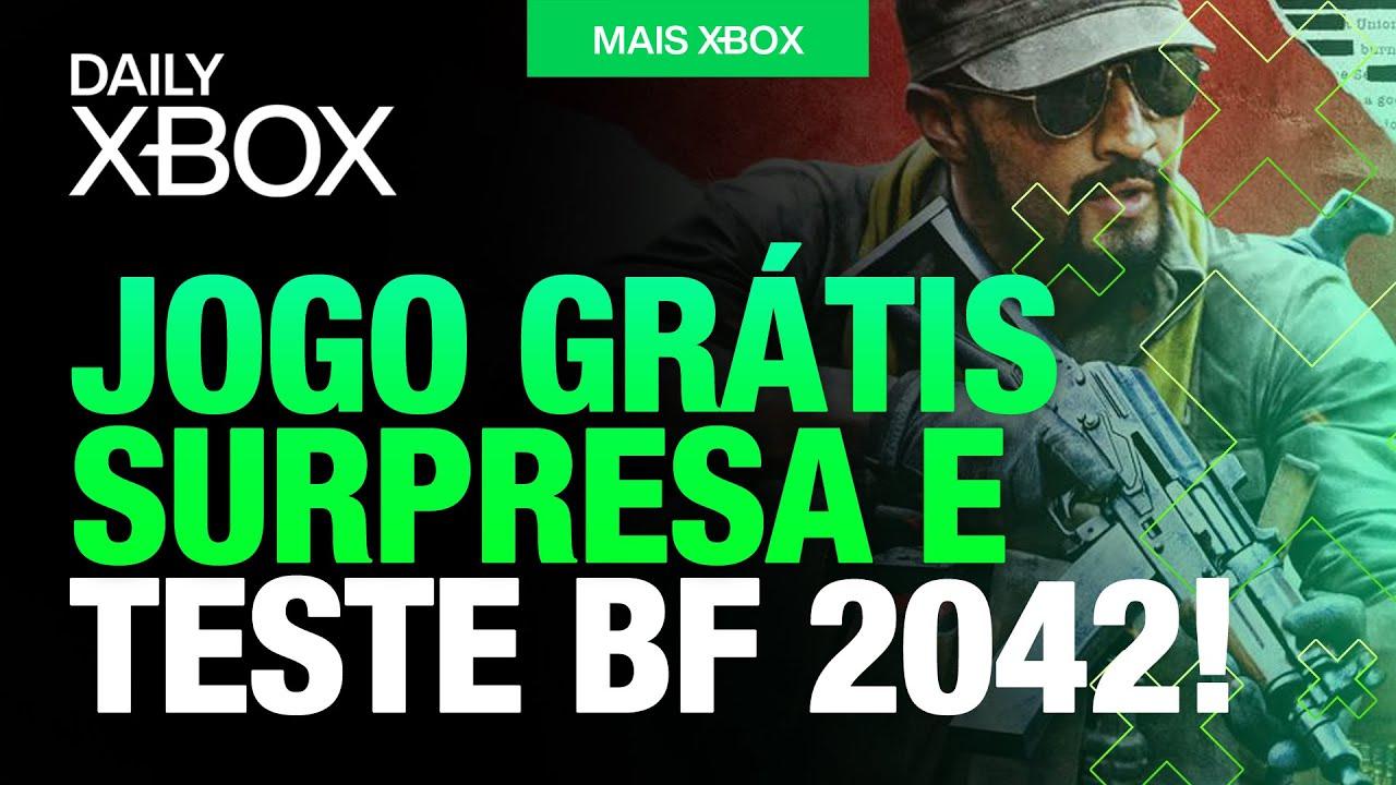 JOGÃO SURPRESA de GRAÇA, TESTE BATTLEFIELD 2042 e JOGO INCRÍVEL no XBOX SERIES S! [DAILY XBOX]