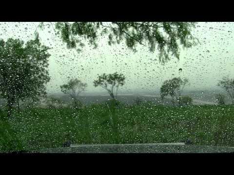 """Rain In A Car 3  60mins """"Rain Sounds""""  """"Sleep Sounds"""""""