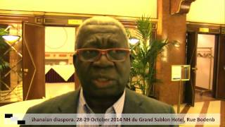 A Net Work to Pull Investments to the Development of Ghana: Prof. BOON