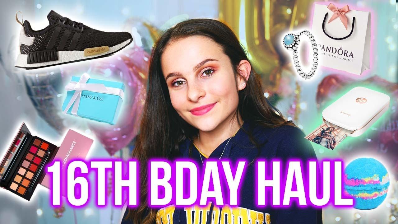 What I Got For My Birthday 2017 Lovevie Youtube