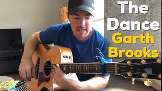 The Dance - Garth Brooks (Beginner Guitar Lesson)