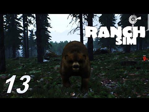 RANCH SIMULATOR #13 Viel zu viele Bären #Ranch Sim #gameplay #deutsch |