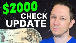 NEW STIMULUS UPDATE: Including $2000 Check Details | Second Stimulus Check Update!
