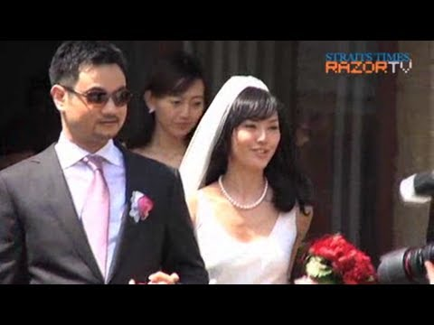 Stefanie Sun's wedding day