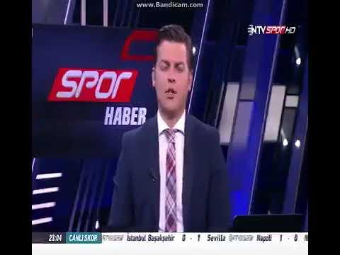 NTV SPOR CANLI YAYINDA KÜFÜR ERBATUR ERGENEKON'DAN