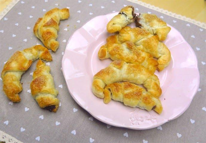 Cornetti Di Pasta Sfoglia Pronti In Pochi Minuti Youtube