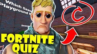 I Got a C on the Fortnite Quiz by Jag in Fortnite Creative Mode!