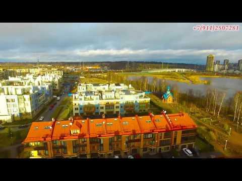 Cмотреть онлайн Купить таунхаус в Новой Скандинавии Санкт Петербург ЖК Новая Скандинавия  Суздальское озеро
