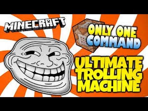 Minecraft | THE TROLL KIT | Custom Command