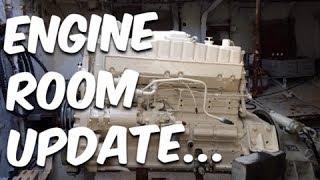 PROP SHAFT ISSUES & ENGINE ROOM UPDATE - BUILDING BRUPEG (Ep. 10)