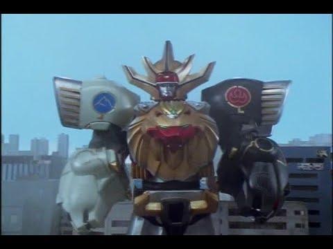 [GaoRanger] Gao King Double Knuckle First Battle