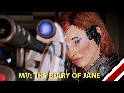 "Mass Effect 1&2 MV - Garrus & Shepard ""The Diary of Jane"""