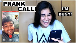 Prank Calling my friends and family! *marathi*