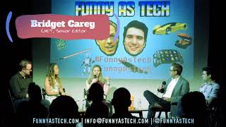 Will we fall in love with robots? CNET's Bridget Carey on Funny as Tech LIVE show