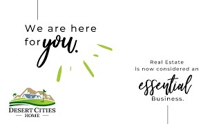 We are HERE for YOU! Real Estate is now an E S S E N T I A L Business!!!