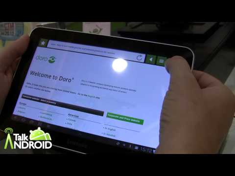 Hands on with the Doro Experience for tablets