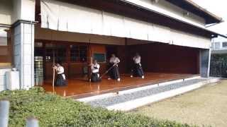 Saki doing Kyudo in Okayama