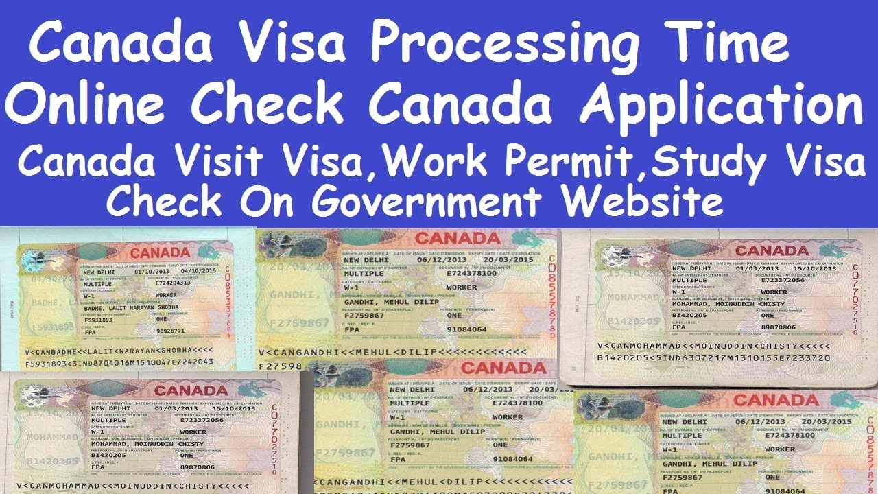 Online And Offline Canada Visa Verify L Canada Visa Application Tracking L Online Canada Visa File Youtube