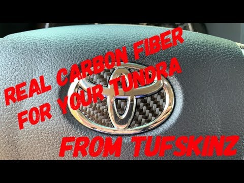 TUFSKINZ Tundra Dash & Steering Wheel Accent Trim Instal