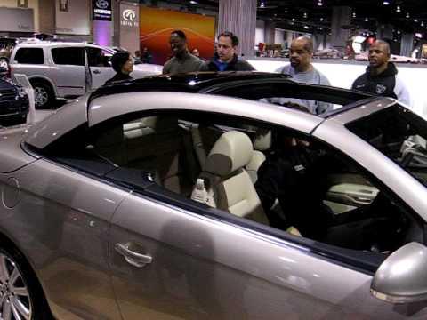 VW Eos Folding Roof At Washington Auto Show YouTube - Eos car show
