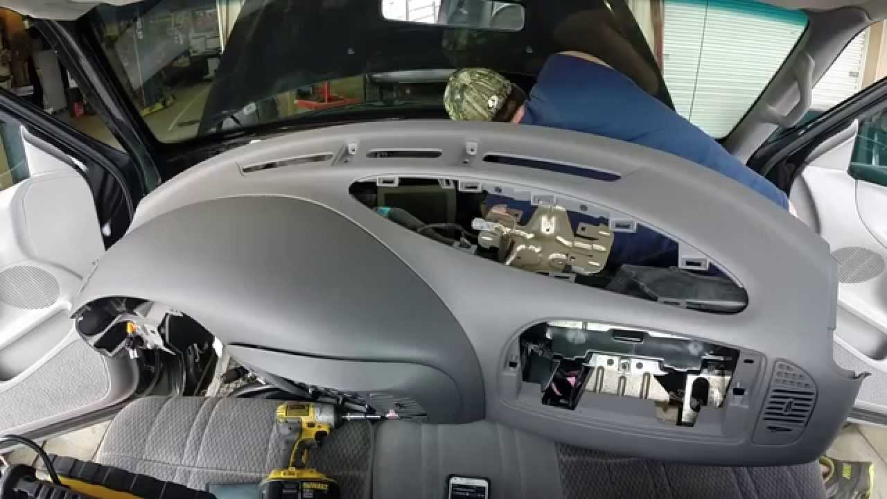 Heater Core F150 Replacement, 32 minutes now!, Evaporator Core F150  YouTube