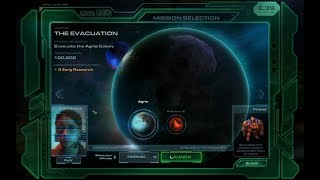 Wings of Liberty - The Evacuation - Walkthrough Starcraft II