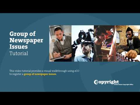 Group of Newspapers Issues: Tutorial (Updated February 2019) thumbnail