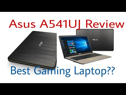 Asus A541UJ Notebook review|Best Gaming Laptop???|