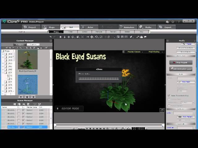 EZ Flowers Vol 1 for iClone 3D by Bigboss - VidInfo