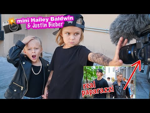 Mini Hailey Baldwin & Justin Bieber FOUND By REAL PAPARAZZI! 📸 Hollywood Paparazzi Exclusive!