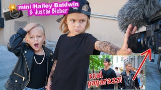 Mini Hailey Baldwin Justin Bieber Found By Real Paparazzi 📸 Hollywood Paparazzi Exclusive