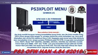 New Menu PS3Xploit Han 4.84 And HanToolBox Offline