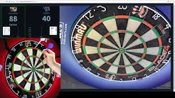 ding v el presidente Web cam of darts test