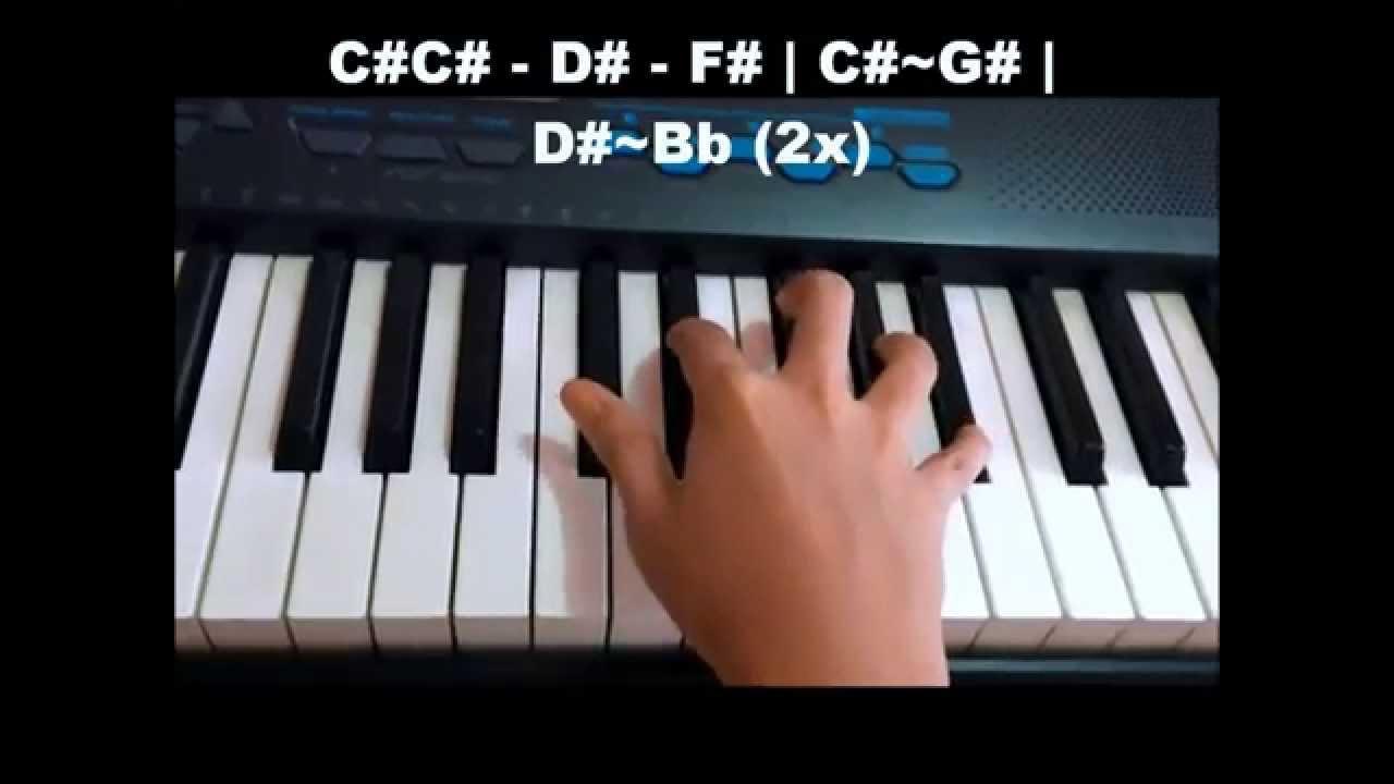 Tadhana Piano Tutorial Chorus Youtube