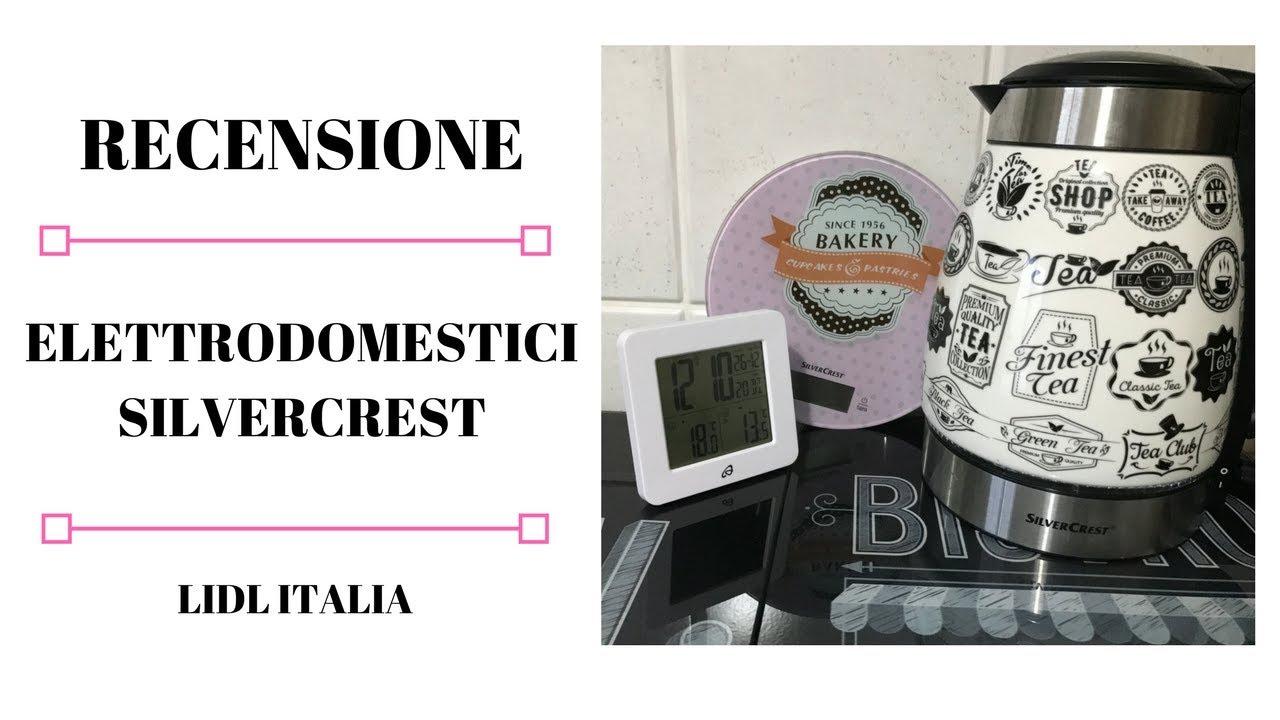 Review Elettrodomestici Silvercrest Bollitore Elettrico Bilancia